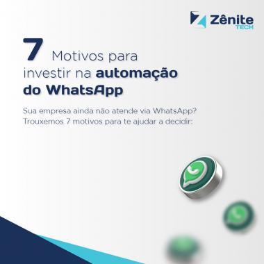 Sua empresa ainda não atende via Whatsapp?