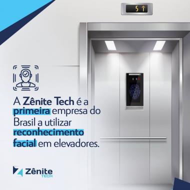 Zênite.Tech  é pioneira nacional na utilização de reconhecimento facial em elevadores